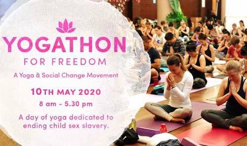 Yogathon for Freedom 2020